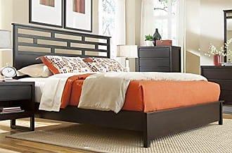 Progressive Furniture Athena 5/0 Queen Panel Headboard, Dark Chocolate