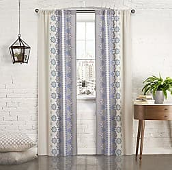Ellery Homestyles Pairs To Go 16004056X095BLU Mantra 56-Inch by 95-Inch Window Panel Pair, Blue