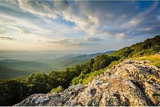 Noir Gallery Appalachian Mountains View in Shenandoah National Park on Aluminum - SHEN-05-MP-08