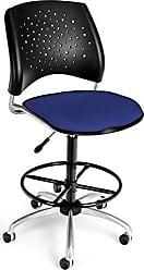 OFM 326-DK-2210 Stars Swivel Stool with Fabric Seat