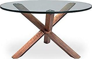 Kardiel CT-Walnut Tripod Mid-Century Modern Coffee Table, Wood
