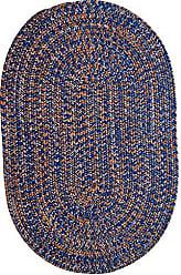 Capel Rugs 0301VS05000800440 Team Spirit Area Rug 5 x 8 Blue Orange