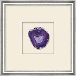 Ashley Furniture Shadowbox Purple Agate Slice Wall Art, Purple