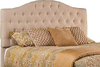 Hillsdale Furniture Furniture 1125-670 Upholstered Headboard Without Frame King Linen Beige
