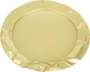 Alessi Foix Round Tray - Brass