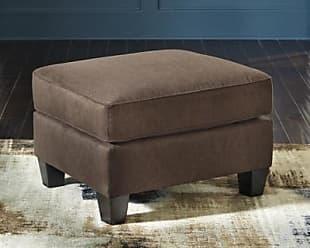 Ashley Furniture Slagle Ottoman, Walnut