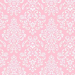 York Wallcoverings Peek-A-Boo Delicate Document Damask Wallpaper Oyster - YS9324
