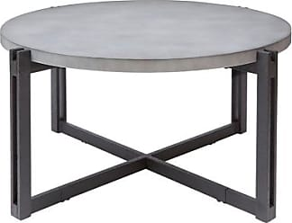 Ashley Furniture Large Round Coffee Table, Concrete