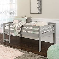 Walker Edison WE Furniture AZWJRTOLGY Loft Bed, Twin, Grey