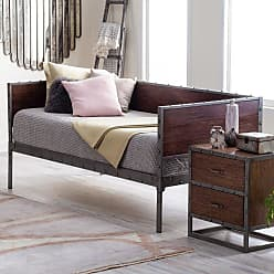 Belham Living Merced Daybed with Optional Trundle - Walnut, Size: Full,Twin - RN2125