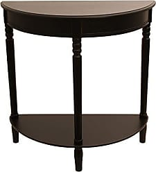 Decor Therapy Fr1799 End Table, Eased Edge Black