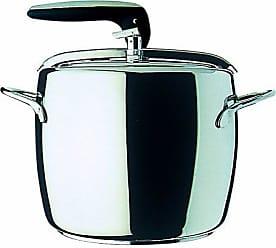 Mepra Mepra 30079070 1950 Pressure Cooker, 7-Liter, Silver