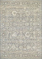 Couristan Everest Collection Persian Arabesque Rug, 2 by 3-Feet, Charcoal/Ivory