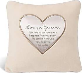 Pavilion Gift Company 16 x 16 Love You Grandma Plush Throw Pillow