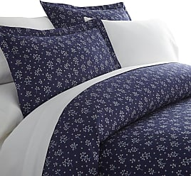 Noble Linens Premium Ultra Soft Midnight Blossoms Pattern Duvet Cover Set by Noble Linens, Size: Queen - NL-DUV-MBL-Q-NA