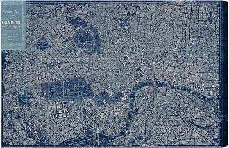 Hatcher & Ethan London Map 1899 Canvas Art - HE10956_60X40_CANV_XXHD_HE