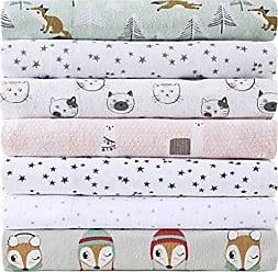 INTELLIGENT DESIGN CS20-0949 Cozy Soft Cotton Novelty Print Flannel Sheet Set Grey Foxes Full