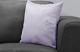 Monarch Specialties I I 9324 Throw Pillow, 18 x 18, Light Purple