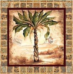 Thirstystone Palms-II Occasions Coaster, Multicolor