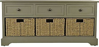 Decor Therapy FR6299 Bench, Antique Gray