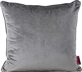 GDF Studio Christopher Knight Home 301575 Isadora New Velvet Throw Pillow (Smoke), 15.00 in. deep x 15.00 in. Wide x 6.30 in. high