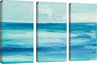 Brushstone Chris Paschke Seascape I 3 Piece Gallery Wrapped Canvas Set, 24X36