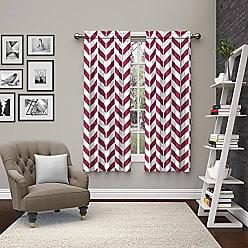 Ellery Homestyles Pairs To Go 15613056X063FUS Dewitt 56-Inch by 63-Inch Window Curtain Pair, Fuschia