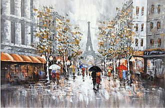 Art Maison Canada People on Streets III Oil Painting Canvas Wall Art - IMP7694