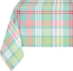Kavka Designs Christmas Ornament Plaid Tablecloth - TBC-SPLLT-70X90-NOR111