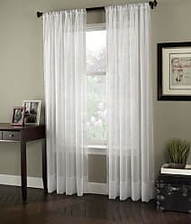 CHF Industries Curtainworks Soho Voile Curtain Panel, 59 X 108, Winter White