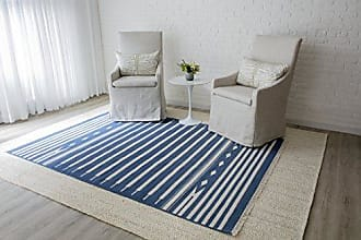 Momeni Rugs Erin Gates by Momeni Thompson Billings Denim Hand Woven Wool Area Rug 36 X 56