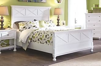 Ashley Furniture Kaslyn Queen Panel Bed, White
