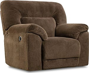 United Furniture Simmons Upholstery Madeline Swivel Glider Recliner - 50570BR-16 MADELINE CHOCOLATE