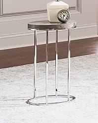 Interlude Home Letitia Oval Side Table