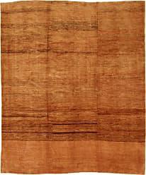 Nain Trading Tapis Dorient Persan Gabbeh Loribaft Design 281x235 Marron/ Orange (Perse/Iran