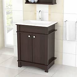 Inval America Modern Bathroom Vanity - Espresso - GB-3526