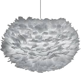Umage 02085 Eos Plug In Eos 18 Feather Pendant in Light Grey Light