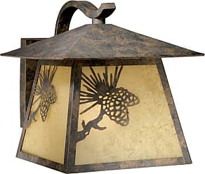 Vaxcel Whitebark Outdoor Wall Light - 11W in. Olde World Patina - OW50513OA