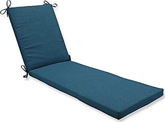 Pillow Perfect Outdoor/Indoor Rave Teal Chaise Lounge Cushion 80x23x3