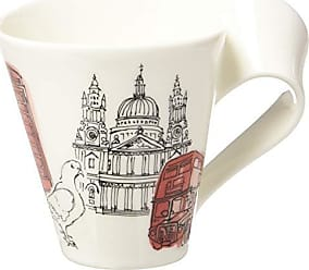 Villeroy & Boch New Wave Caffé Cities of the World Mug London By Villeroy & Boch - Premium Porcelain - Made in Germany - Dishwasher and Microwave Safe - Gift Boxed - 11.75 Ounce Capacity