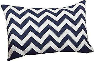 SARO LIFESTYLE 10036 LExcellence Navy Blue Waffle Weave Design Down Filled Linen Throw Pillow 20,