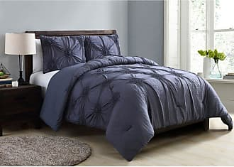 VCNY Jenelle Comforter Set by VCNY White, Size: King - JNL-3CS-KING-FA-WH