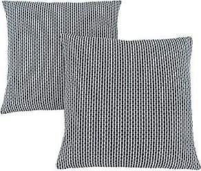 Monarch Specialties Monarch Abstract Dot 18 x 18 Light/Dark Blue 2 Piece Pillow