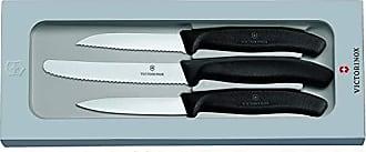 Negro Victorinox K/üchenmesser Grand Ma/ître Steakmesserset Cuchillo est/ándar
