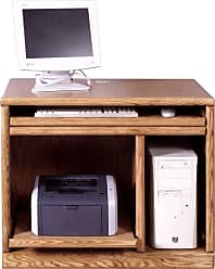 Forest Designs Customizable Contemporary 1042 Computer Stand - 1042-B