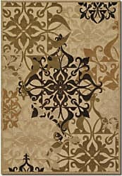 Couristan Couristan 5714/0134 Urbane Gatesby/Sand-Ivory 8-Feet 7-Inch by 13-Feet Rug