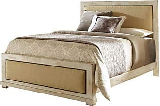 Progressive Furniture P610-94/95/78 Willow Bedroom, King, Distressed White