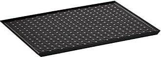 Yamazaki Home 3329 Tower Sink Side Glass Drainer Wide BK Space Saving, One Size, Black