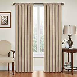 Ellery Homestyles Eclipse 42 x 54 Insulated Darkening Single Panel Rod Pocket Window Treatment Living Room, Light Grey