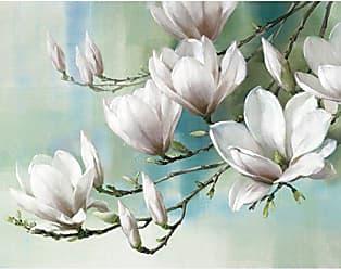Portfolio Canvas Decor Portfolio Décor Gallery Wrapped Canvas Wall Art, 22x28 Magnolia Morning Teal by Rogier Daniels, 22 x 28